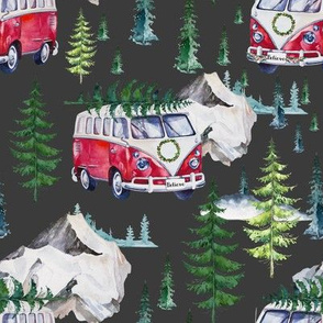 "8"" Road Tripping Holidays - Grey"