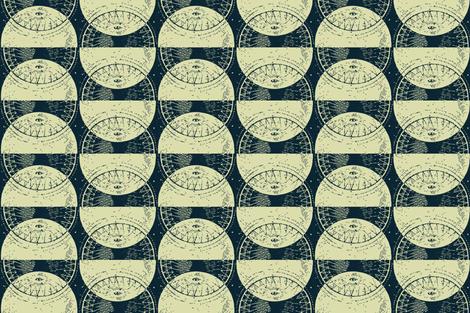 moon's eyes-smaller fabric by lfntextiles on Spoonflower - custom fabric