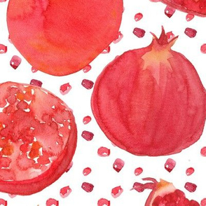 Painted Pomegranates