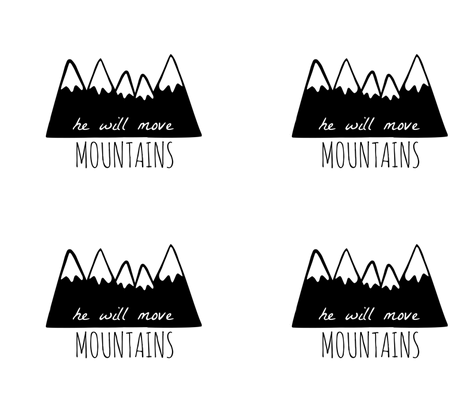 he will move mountains pillow fabric by shesalioness on Spoonflower - custom fabric