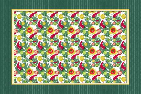 Salsa Tea Towel fabric by chubbellart on Spoonflower - custom fabric