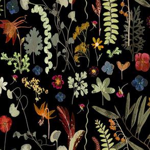 Collectors Garden dark floral