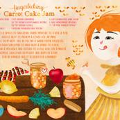 fingerlicking carrot cake jam