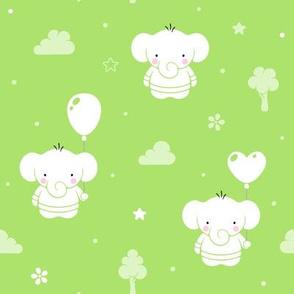 Baby Teddy Elephants