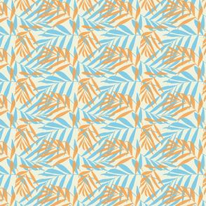 OrangeBlueLeaves