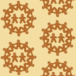 Gingerbread Snowflake (cream)