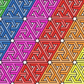 Impossible Rainbow Triangles