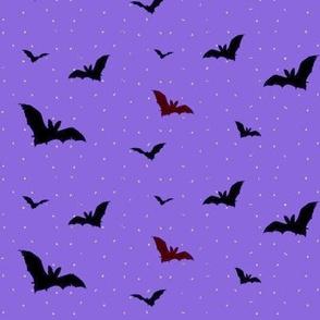 Purple Night Bats