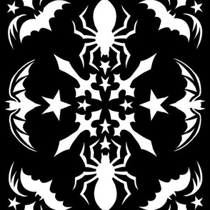 spiders_bats_snowflake_black
