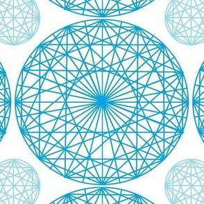 Geometry Blue