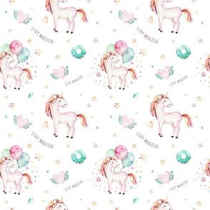 Watercolor unicorn world_8