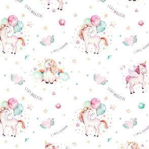 Watercolor unicorn world_10