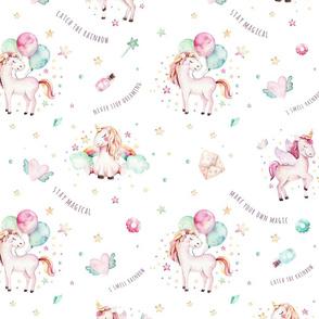 Watercolor unicorn world_11