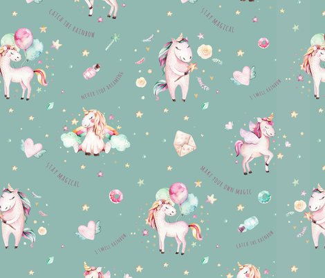 Unicorns_pattern_mint2_shop_preview