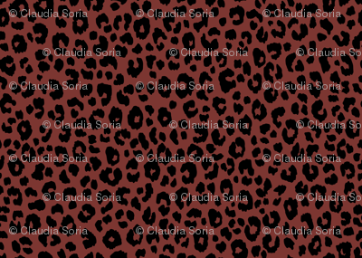 Red Brown - Leopard