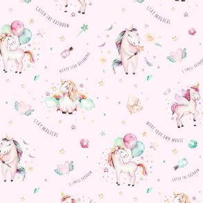 Watercolor unicorn world_29