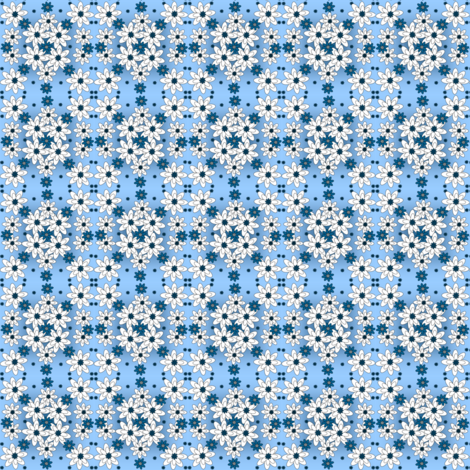 Baby Boy Christening Fabric Collection fabric by lworiginals on Spoonflower - custom fabric