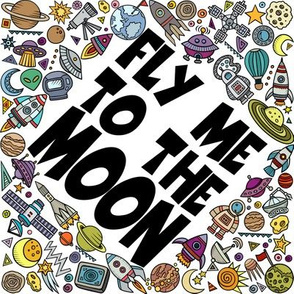 Fly Me to the Moon 8""