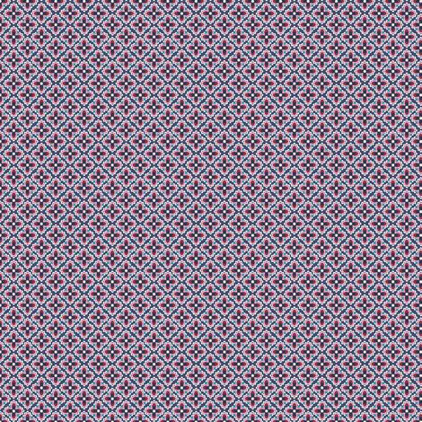 Tiny Anemone  fabric by lilalottadesign on Spoonflower - custom fabric