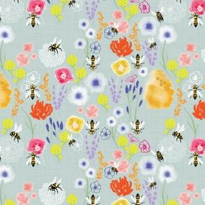 Bees & Flowers