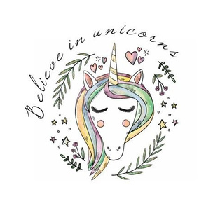 believe in unicorns lovey