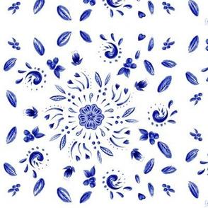 Emerson's Flowers—Blue