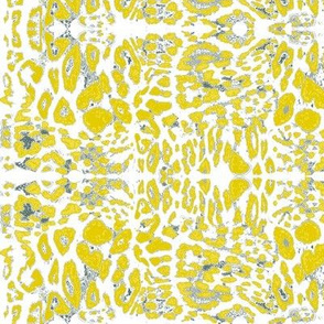 The Wild Side in Vibrant Primrose Yellow & GrayGrey