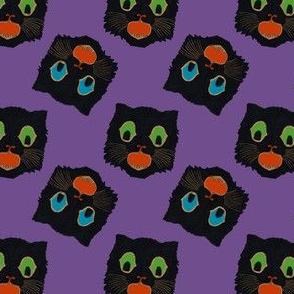 Vintage Halloween Cats