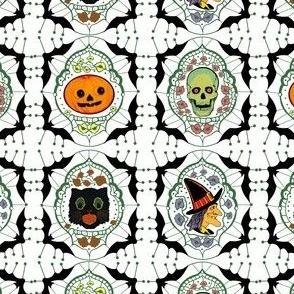 Vintage Halloween (white)