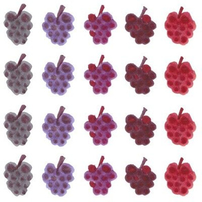 Blackberries & Raspberries: Color-by-Fruit Collection