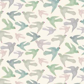 Pastel Parrots