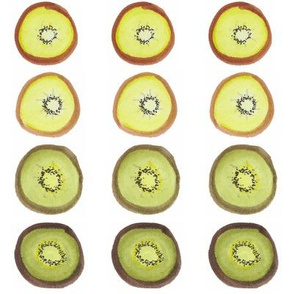 Kiwis: Color-by-Fruit Collection