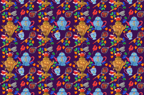 Family_recipes_russian_style fabric by tais_créatrice on Spoonflower - custom fabric