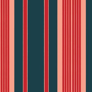Rayures rouge