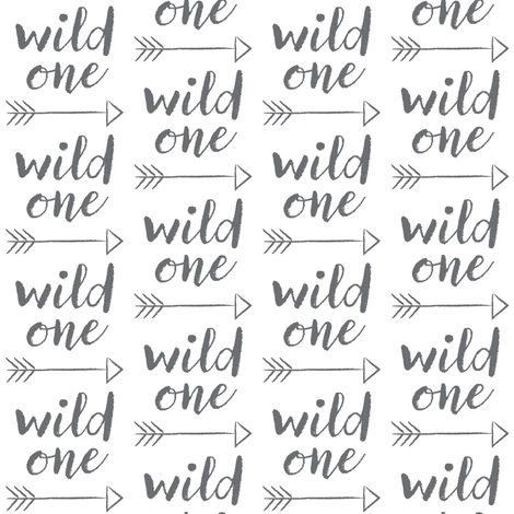 wild-one-with-arrow fabric by lilcubby on Spoonflower - custom fabric