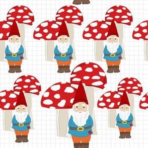 Gnome Gray Grid