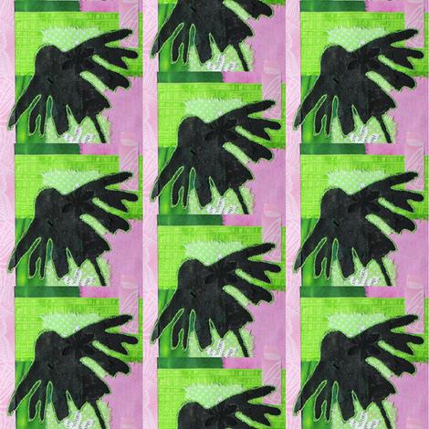 Daisy fabric by the_hoarder's_art_room on Spoonflower - custom fabric