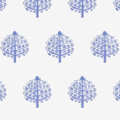 Bohemian Tree of Life  fabric by danika_herrick on Spoonflower - custom fabric