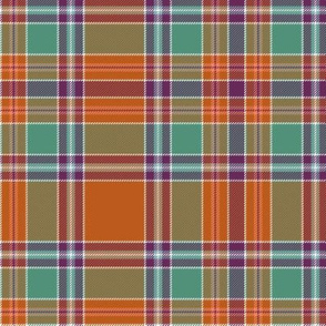 "Birral / Burrell tartan, 6"" symmetrical ancient"