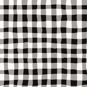 BW plaid