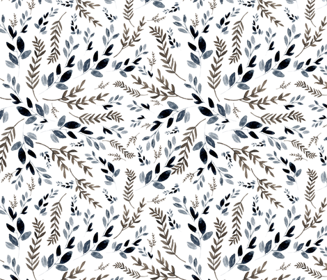 """23"""" October in the Wild / Foliage fabric by shopcabin on Spoonflower - custom fabric"""