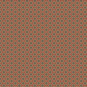 Shamrock on Red Background Photo Pattern