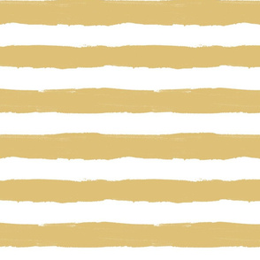 Thick Stripe Mustard