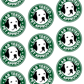 Starbucks Parody Labrador Retriever