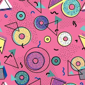 Memphis Donut Shop - Pink
