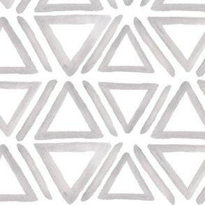 Gray Geometric Triangles