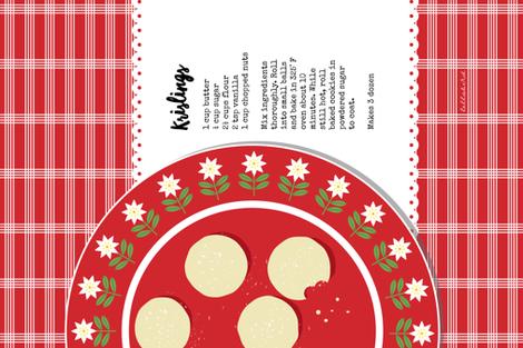Krislings Tea Towel fabric by jenimp on Spoonflower - custom fabric