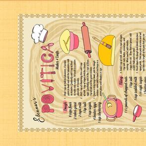 Family Recipe Povitica Bread