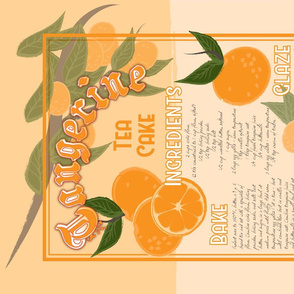 Tangerine Tea Cake
