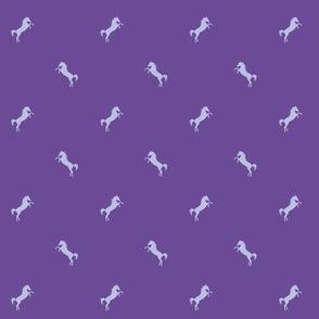 Horsey violet